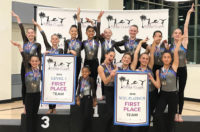 2018 Pacific Classic gymnastics meet - Flight School Gymnastics 1st place teams
