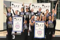 2018 Pacific Classic gymnastics meet - Flight School Gymnastics 1st place teams