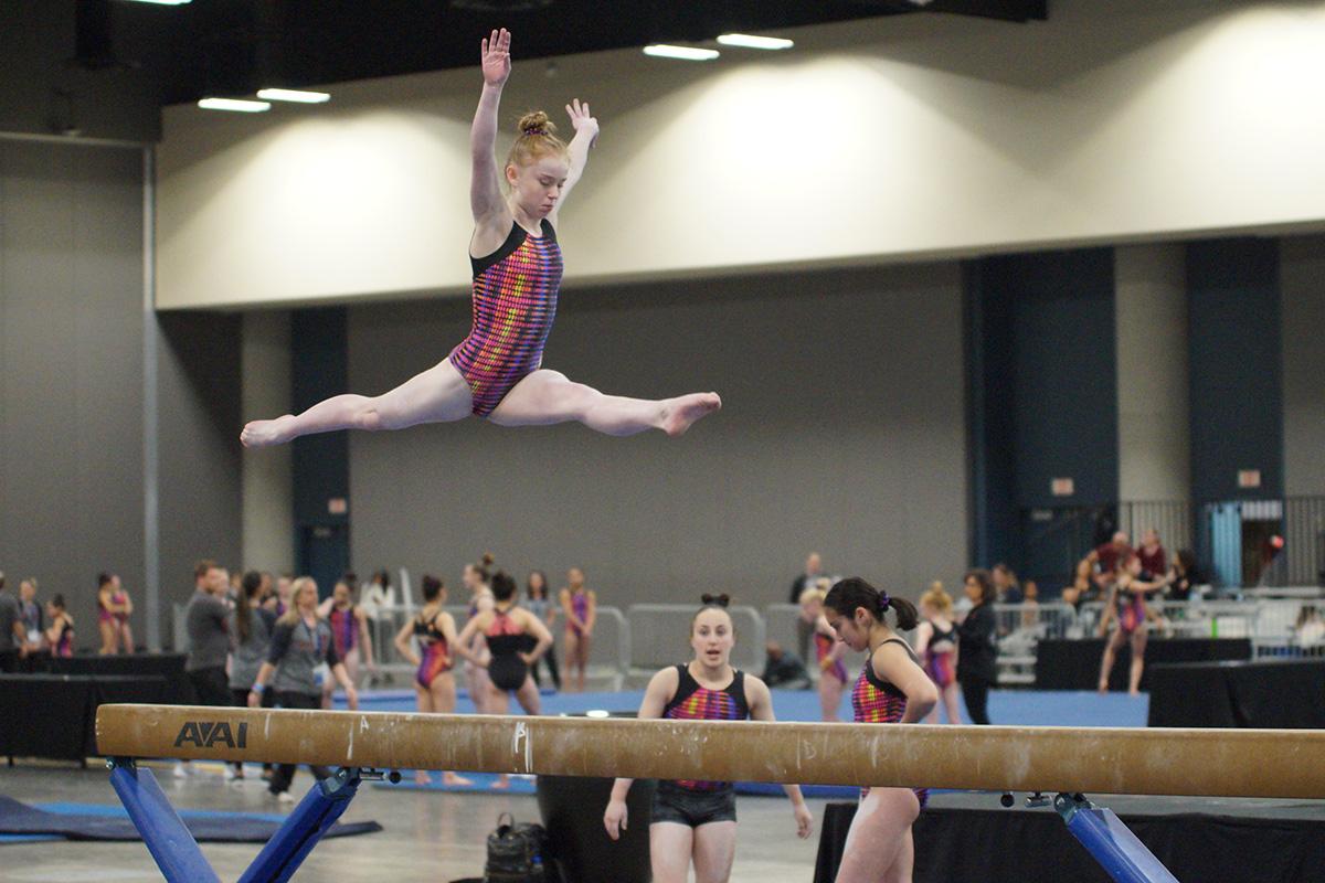 Flight School Gymnastics recruit Bridget Kemp