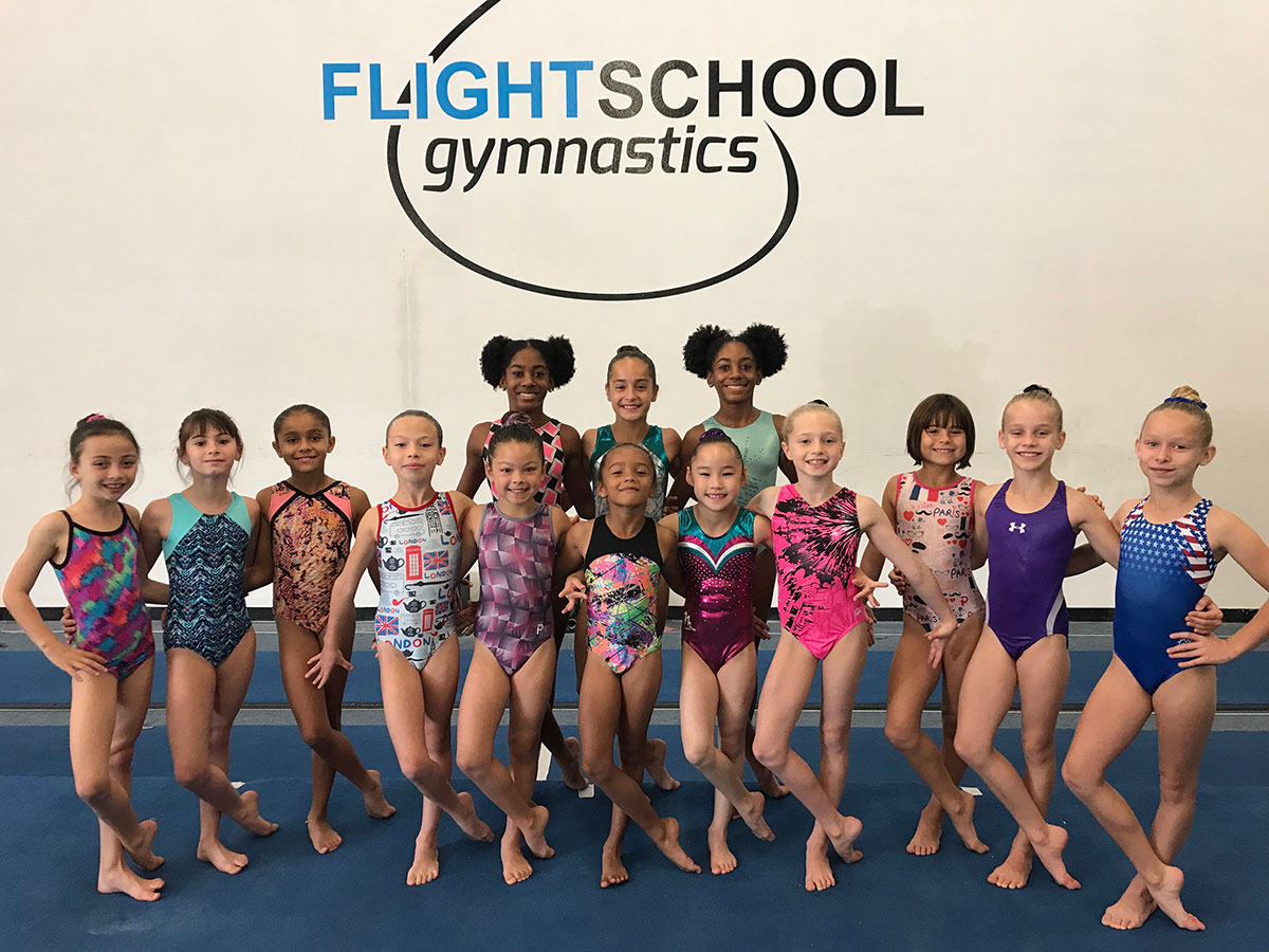 Flight School Compulsory Gymnastics Team