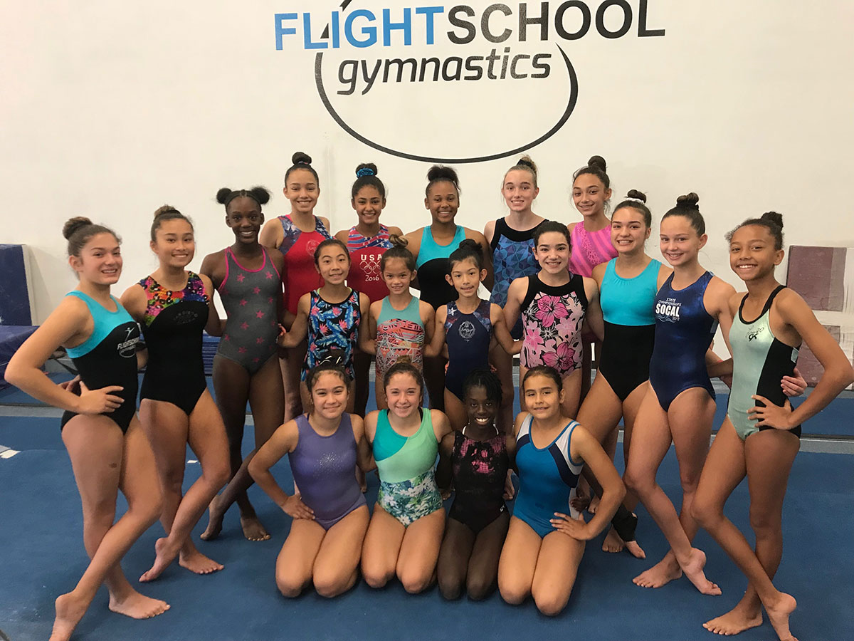 Flight School XCEL Gymnastics Team