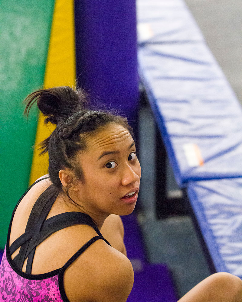 Loganne Basuel Flight School Gymnastics