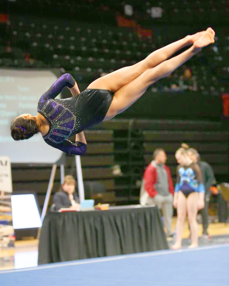 Maliyah James, gymnastics, floor exercise