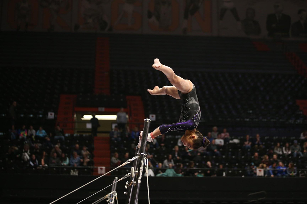 Flight School Gymnastics recruit Maliyah James