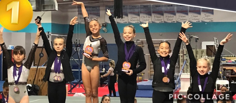 Flight School Gymnastics Team at 2019 Tricks 4 Treat meet